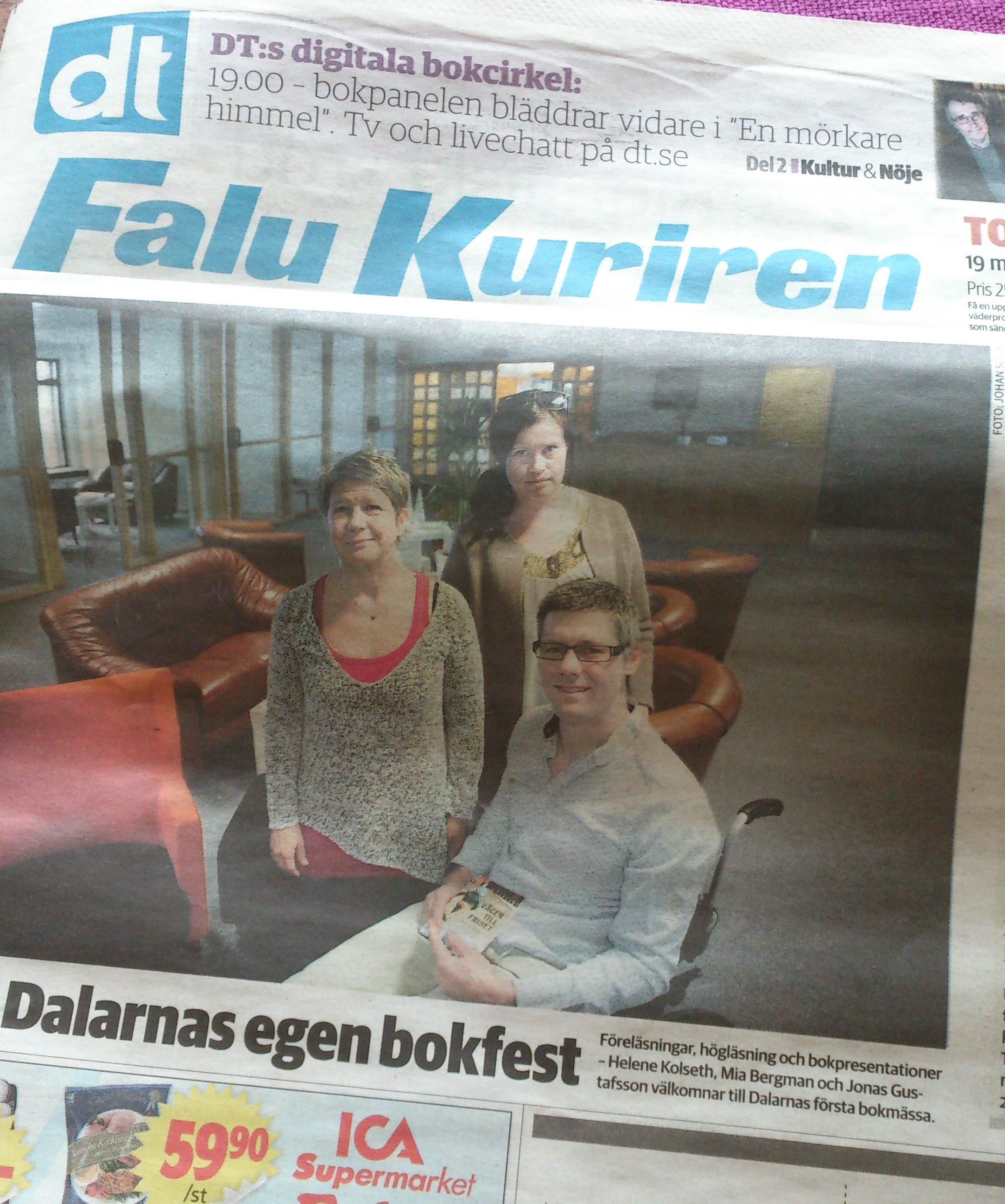 Bokmässa i Falun