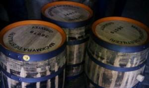 Mackmyra whiskytunnor